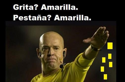 El árbitro Héber Lopes fue el protagonista de los memes de la final de la Copa América