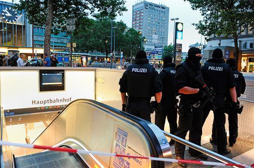 En fotos: intensos operativos de la policía alemana por tiroteo en Múnich