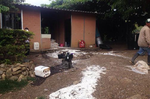En imágenes: así quedó finca de empresario en Corinto, Cauca, tras ataque de indígenas
