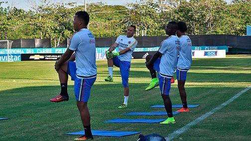 Galería: Así entrena la Selección Colombia en Barranquilla