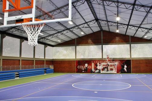 La universidad San Buenaventura moderniza su coliseo