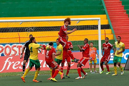 Imágenes: así se vivió el empate entre Atlético Bucaramanga y América de Cali