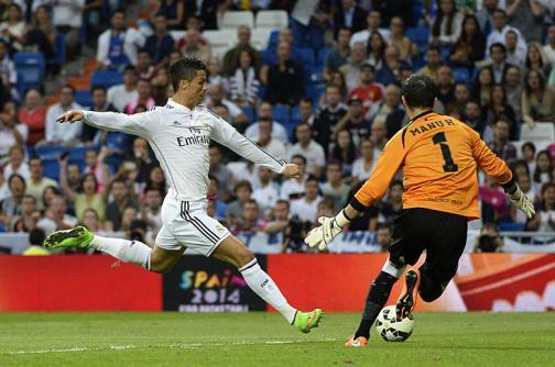 Real Madrid vs. Elche en la Lente