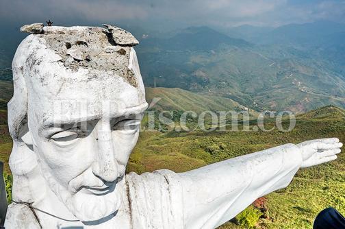 Video: así se ve el monumento de Cristo Rey en su aniversario 61