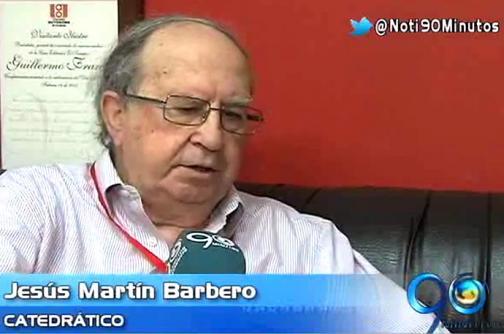 Jesús Martín Barbero invitado especial al encuentro de periodismo cultural