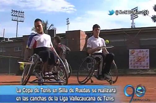 El miércoles se inicia la Copa Colombia de tenis en silla de ruedas