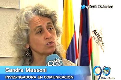 La investigadora de medios Sandra Massoni dará una conferencia en Cali