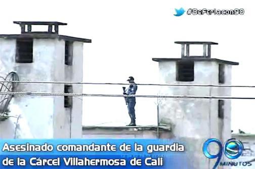 Asesinado comandante de guardia de la cárcel Villahermosa de Cali