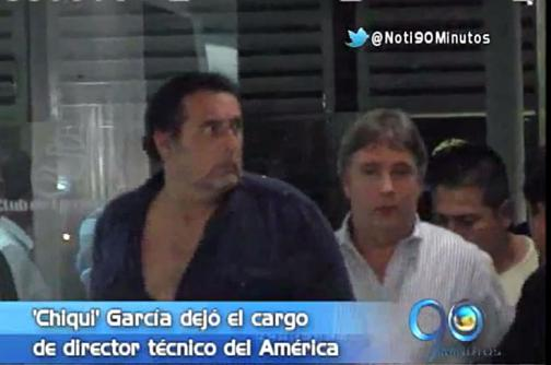 Junta directiva del América de Cali aceptó la renuncia del 'Chiqui' García