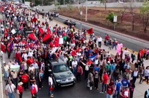 Video: piden renuncia del Presidente de Honduras, a un año de Gobierno