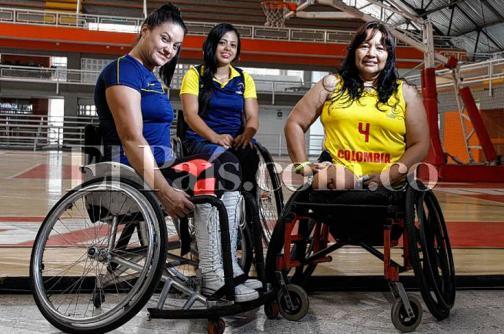 Conozca la primera selección Colombia femenina de baloncesto en silla de ruedas