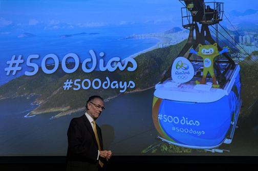 Río, a 500 días de los Juegos Olímpicos