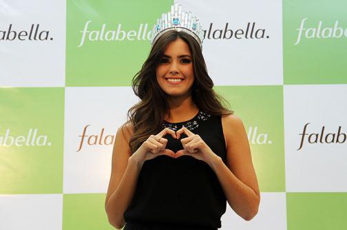 Video: así fue la visita fugaz de Miss Universo a Colombia