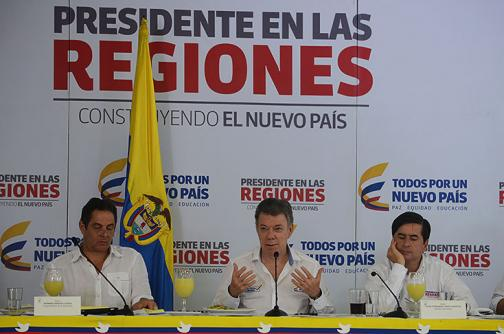 Video: presidente Santos lanzó  programa de empleo en Yumbo