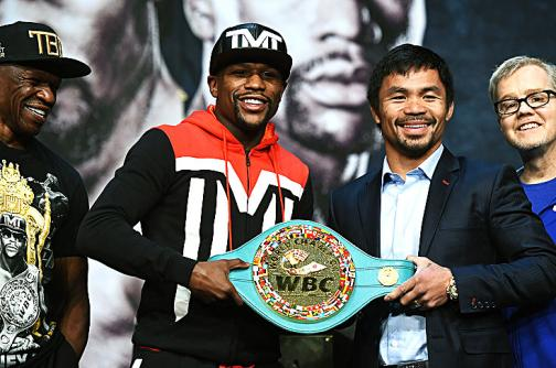 Duelo de titanes entre Floyd Mayweather y Manny Pacquiao