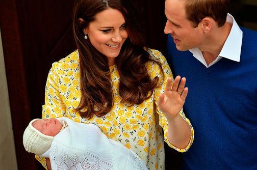 Monarquía británica da la bienvenida a la nueva princesa de Cambridge