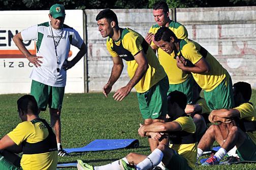La selección Bolivia calienta motores para la Copa América