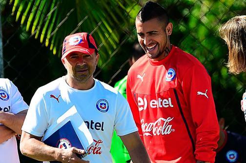 Copa América: selección Chile arranca entrenamientos