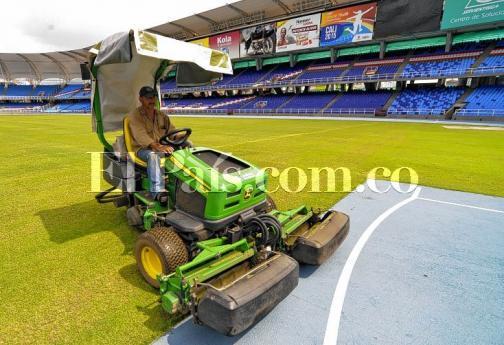 Así luce el estadio Pascual Guerrero a pocos días del Mundial de Atletismo de Menores