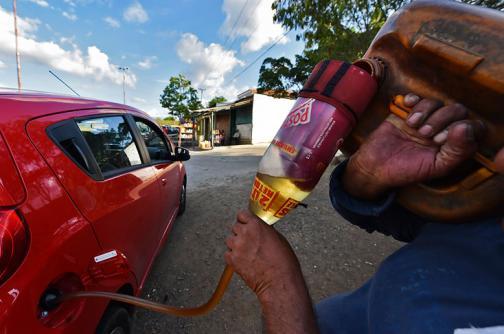 En video: crisis en la frontera causa desabastecimiento de gasolina en Cúcuta