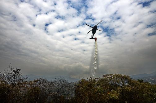 En video: el gran daño que dejó un incendio de cinco días en Dapa