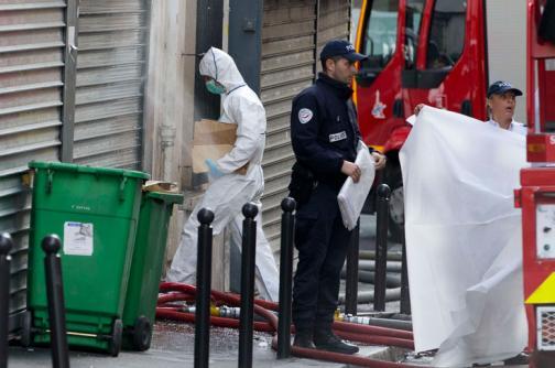 En video: incendio en Paris causó la muerte de dos niños