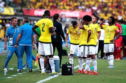 Jugadores de selección Colombia ya piensan en Uruguay