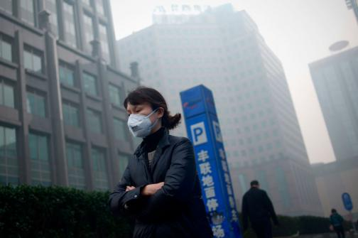 En video: China alcanza récord de contaminación este año