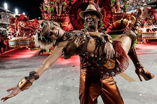 En video: el sambódromo de Río de Janeiro puso a gozar a los extranjeros