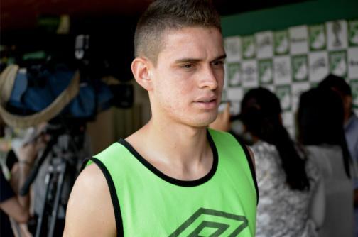 Rafael Santos Borré está feliz de regresar al gol con el Deportivo Cali