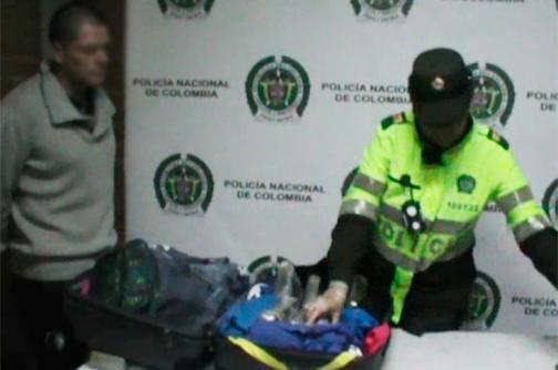 Video: desmantelan red que enviaba droga a Europa reclutando a colombianos y venezolanos
