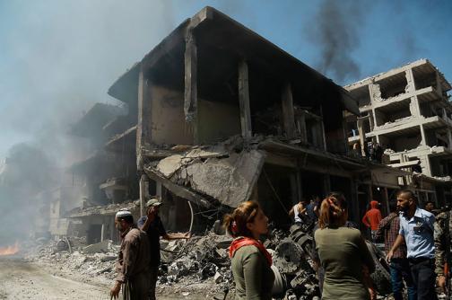 En video: al menos 44 muertos en atentado del Estado Islámico en Siria