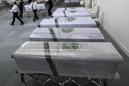 Colombia repatria restos de víctimas de tragedia aérea donde viajaba Chapecoense