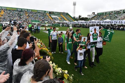 En video: Chapecó despidió a los futbolistas que la hicieron soñar en grande