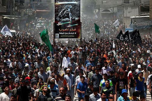 En imágenes: nuevos bombardeos en Gaza dejan tres líderes de Hamas muertos