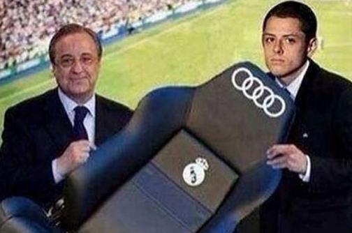 Los mejores memes de la llegada de 'Chicharito' al Real Madrid