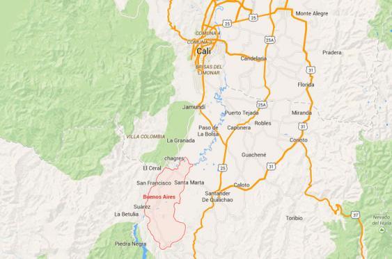 El ataque de las Farc se produjo en la vereda La Esperanza, municipio de Buenos Aires, norte del Cauca. <br>