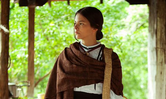 Julieth Restrepo es una de las protagonistas de  'Laura, la Santa Colombiana'  la nueva serie del Canal Caracol.<br>Foto: Especial para El País