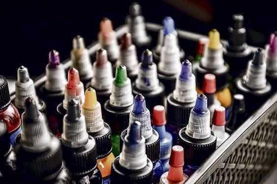 Pregunte por las tintas y exija que sean estériles,  indague de dónde provienen para saber la calidad. <br>