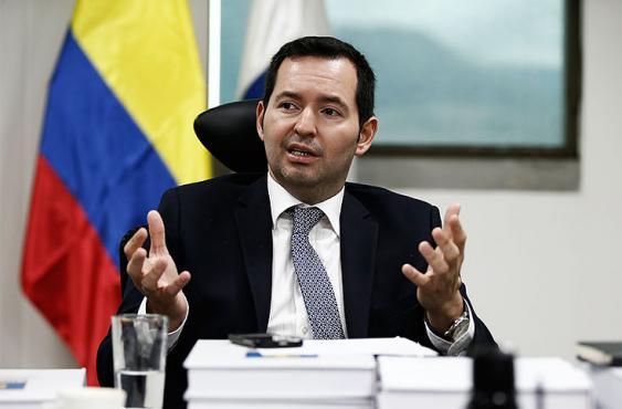 Jorge Perdomo fue vicefiscal y fiscal general de la Nación encargado. Foto: Elpaís.com.co l Colprensa