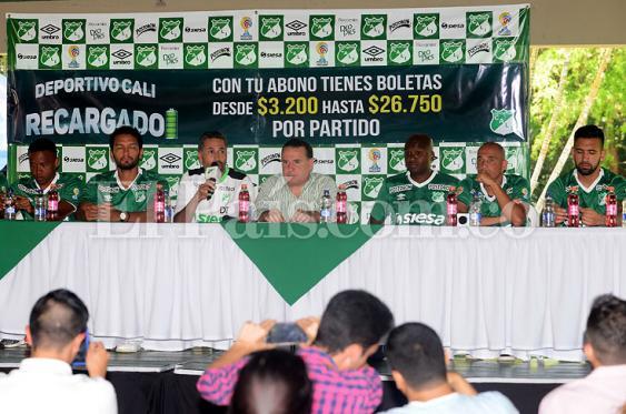 """""""Al Deportivo Cali venimos a ganar"""", dijeron los refuerzos azucareros"""