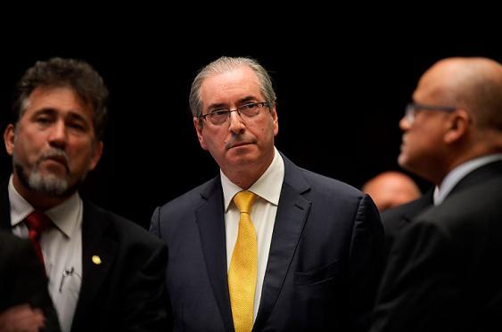 El exdiputado ultraconservador Eduardo Cunha fue acusado ante el Consejo de Ética de la cámara de ocultar cuentas bancarias en Suiza. Foto: Elpais.com.co | AFP