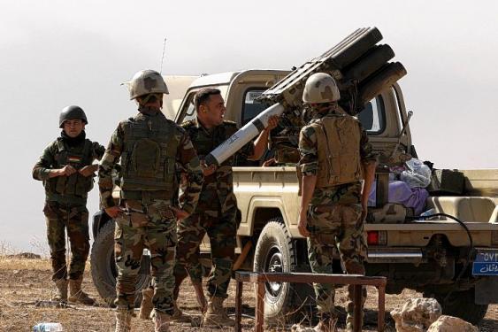 En fotos: la ofensiva militar contra el fortín del Estado Islámico en Irak