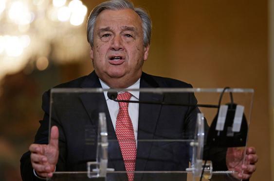 Antonio Guterres, secretario general de la ONU.<br>Foto: Elpais.com.co | AFP