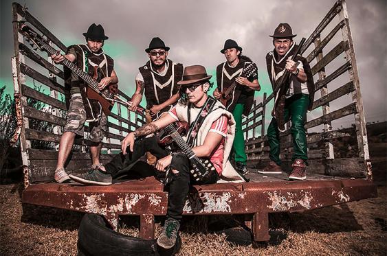La agrupación de carranga-rock, Velo de Oza, es la invitada especial por Colombia a la exposición mundial de música, Womex. <br>Foto: Cortesía Andrés Muñoz-Velo de Oza / Colprensa