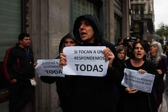 Argentina se moviliza este miércoles contra la violencia machista bajo la consigna