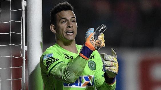 Danilo era el portero titular de Chapecoense. <br>AFP - El País