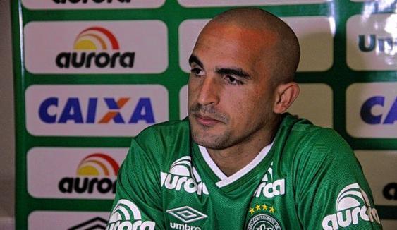 José Gildeixon había llegado a Chapecoense en el 2015.<br>