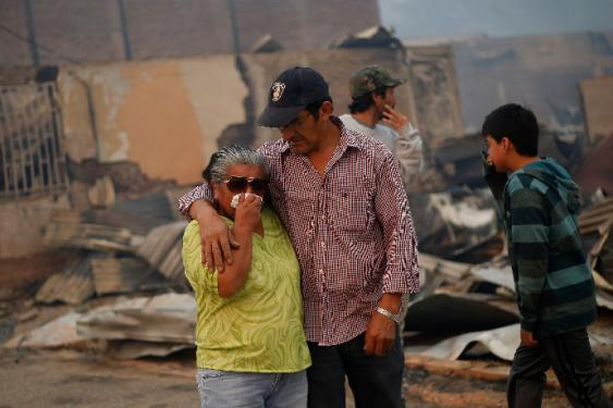 En fotos: más de 238.000 hectáreas devastadas por incendios en Chile