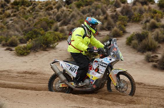 El Rally Dakar, golpeado por el clima, llegó a territorio argentino